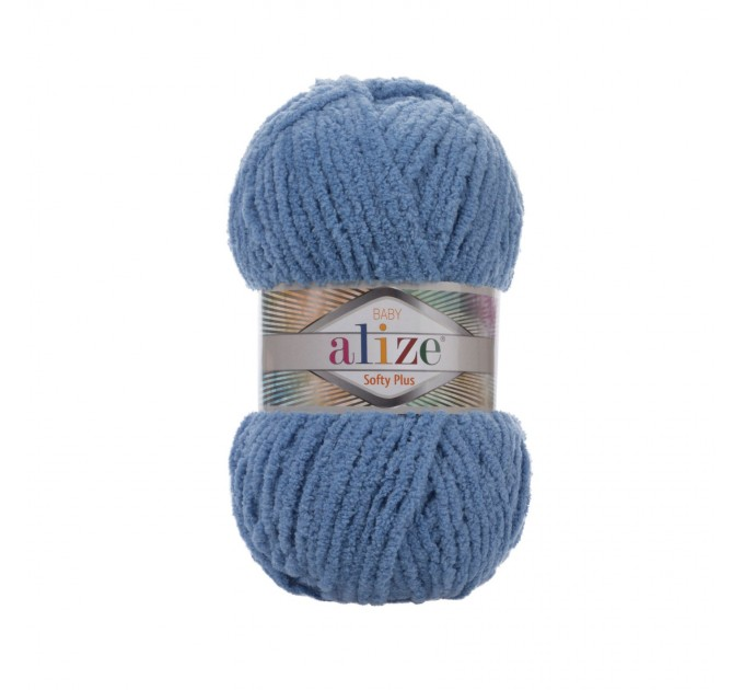 ALIZE SOFTY PLUS Yarn Plush Yarn Baby Yarn Super Bulky Yarn Chunky Yarn Soft Yarn Multicolor Yarn For Kids Rainbow Yarn Knitting Yarn  Yarn  3