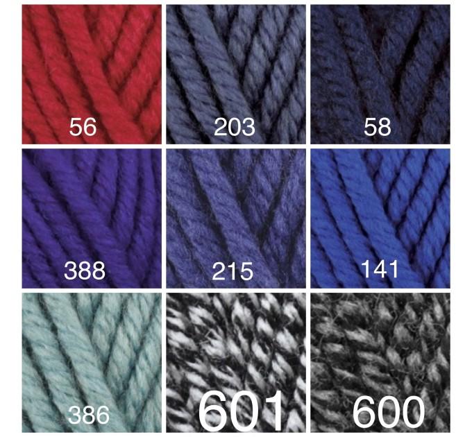 ALIZE SUPERLANA MEGAFIL Yarn Wool Yarn Super Bulky Yarn Acrylic Wool Super Chunky Yarn Crochet Yarn Knitting Yarn Crochet Sweater Poncho  Yarn  4