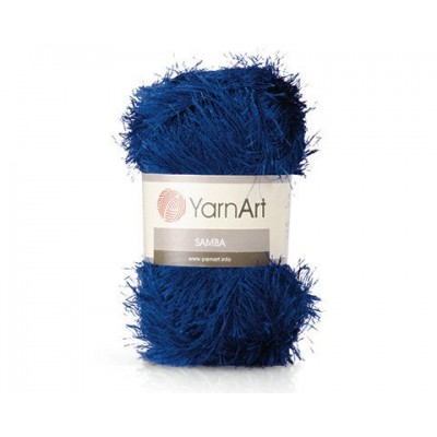 YARNART SAMBA Yarn, Eyelash Yarn, Fur Yarn, Purple Eyelash Yarn, Shaggy Yarn, Faux Fur, Fan Fur Yarn, Long Eyelash Yarn, Fake Fur Yarn