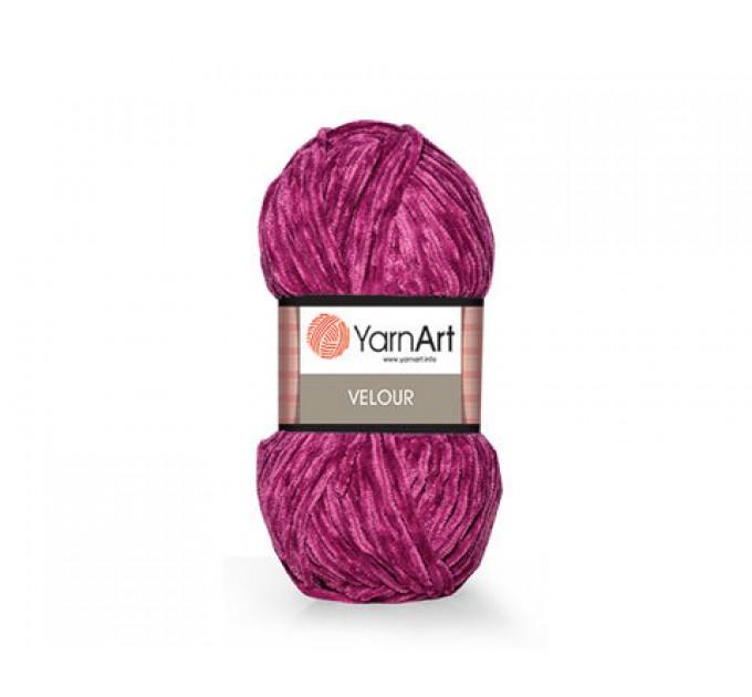 YARNART VELOUR Yarn, Velvet Yarn, Velour Yarn, Plush Yarn, Bulky Yarn, Soft Yarn, Hypoallergenic, Baby yarn, Summer yarn, Crochet Yarn  Yarn