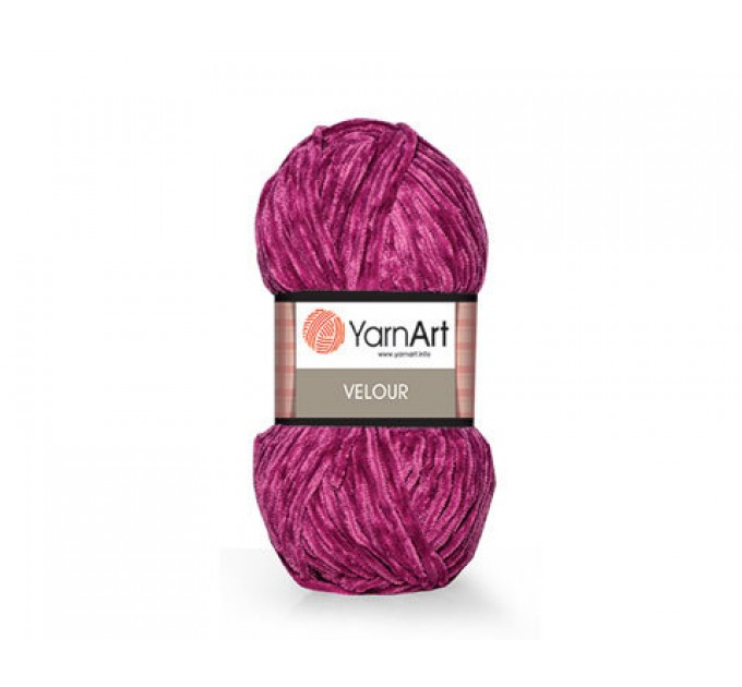 YARNART VELOUR Yarn, Velvet Yarn, Velour Yarn, Plush Yarn, Bulky Yarn, Soft Yarn, Hypoallergenic, Baby yarn, Summer yarn, Crochet Yarn  Yarn  3