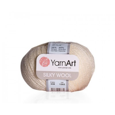 YARNART SILKY WOOL Yarn, Blend Wool, Silky Wool, Merino Wool Yarn, Silk Yarn, Wool Yarn, Viscose Yarn, Soft Yarn, Crochet Rayon Yarn