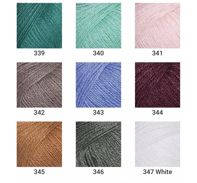YARNART SILKY WOOL Yarn, Blend Wool, Silky Wool, Merino Wool Yarn, Silk Yarn, Wool Yarn, Viscose Yarn, Soft Yarn, Crochet Rayon Yarn  Yarn  3