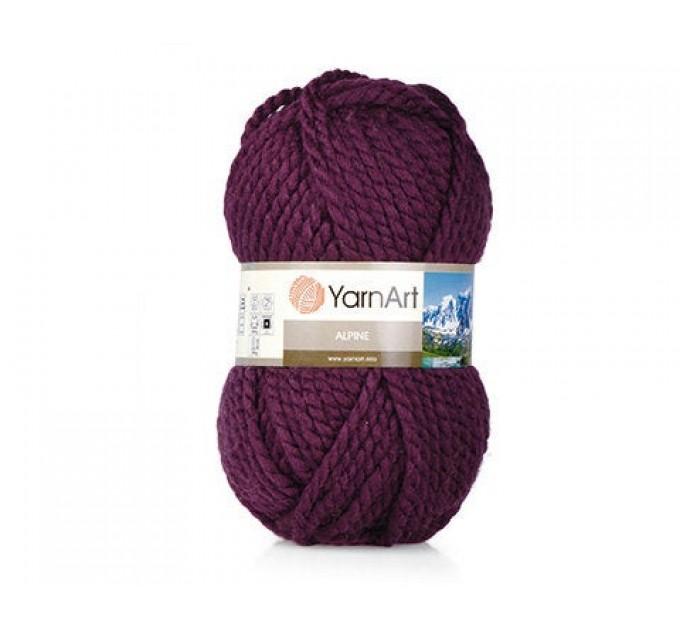 YARNART ALPINE Yarn Wool Yarn Chunky Wool Yarn Acrylic Yarn, Super Chunky Yarn, Big Yarn, Super Bulky Yarn, Hand Knit Yarn  Yarn  1