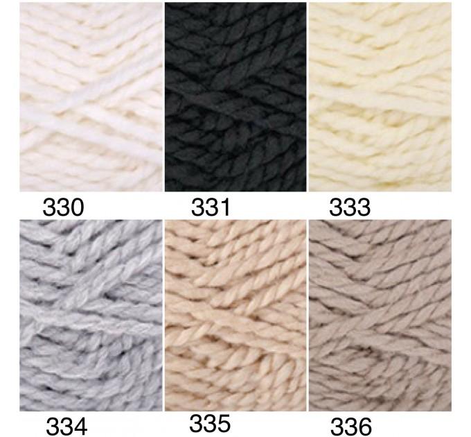 YARNART ALPINE Yarn Wool Yarn Chunky Wool Yarn Acrylic Yarn, Super Chunky Yarn, Big Yarn, Super Bulky Yarn, Hand Knit Yarn  Yarn  2