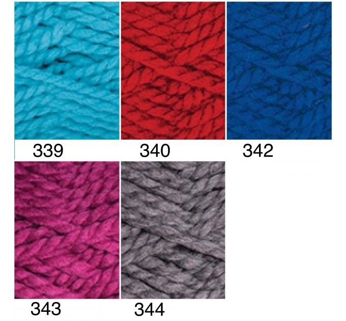 YARNART ALPINE Yarn Wool Yarn Chunky Wool Yarn Acrylic Yarn, Super Chunky Yarn, Big Yarn, Super Bulky Yarn, Hand Knit Yarn  Yarn  3