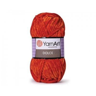 YARNART DOLCE Yarn, Velour Yarn, Plush Yarn, Bulky Yarn, Soft Yarn, Hypoallergenic Yarn, Velvet Yarn, Baby yarn, Summer yarn, Crochet Yarn