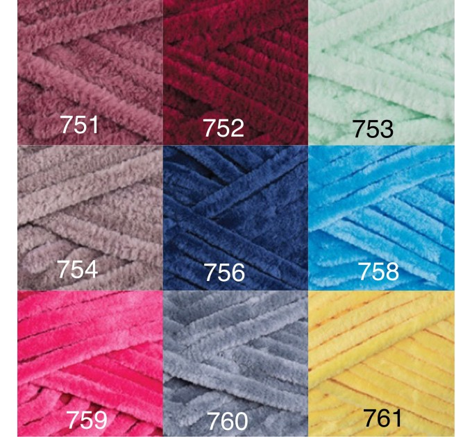 YARNART DOLCE Yarn, Velour Yarn, Plush Yarn, Bulky Yarn, Soft Yarn, Hypoallergenic Yarn, Velvet Yarn, Baby yarn, Summer yarn, Crochet Yarn  Yarn  3