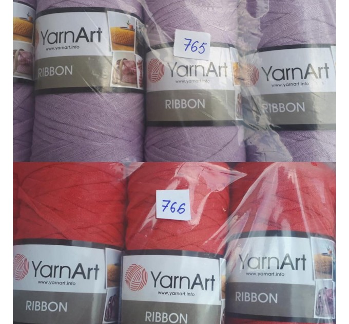 YARNART RIBBON Yarn Cotton Yarn Bag Yarn Yarn Crochet Bag t-shirt yarn Crochet Rug Chunky Yarn Cotton Recycled Yarn Rug Yarn Bulky Yarn  Yarn  8