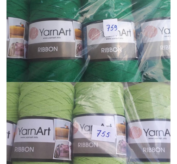YARNART RIBBON Yarn Cotton Yarn Bag Yarn Yarn Crochet Bag t-shirt yarn Crochet Rug Chunky Yarn Cotton Recycled Yarn Rug Yarn Bulky Yarn  Yarn  9