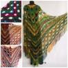 Outlander crochet Shawl Green