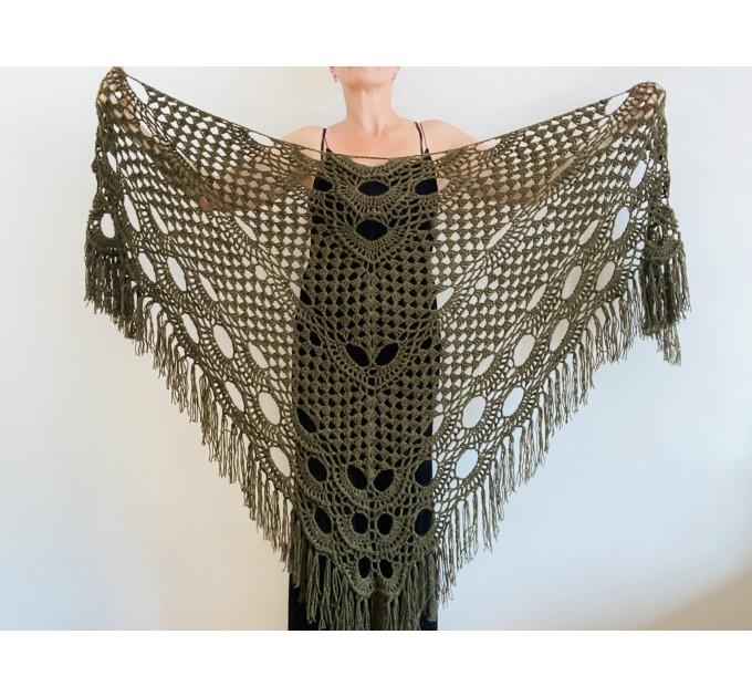 Royal Blue cashmere bridе shawl winter wedding shawl alpaca triangle shawl wedding cape bridesmaid shawl bride cover up anniversary gift  Mohair / Alpaca  3
