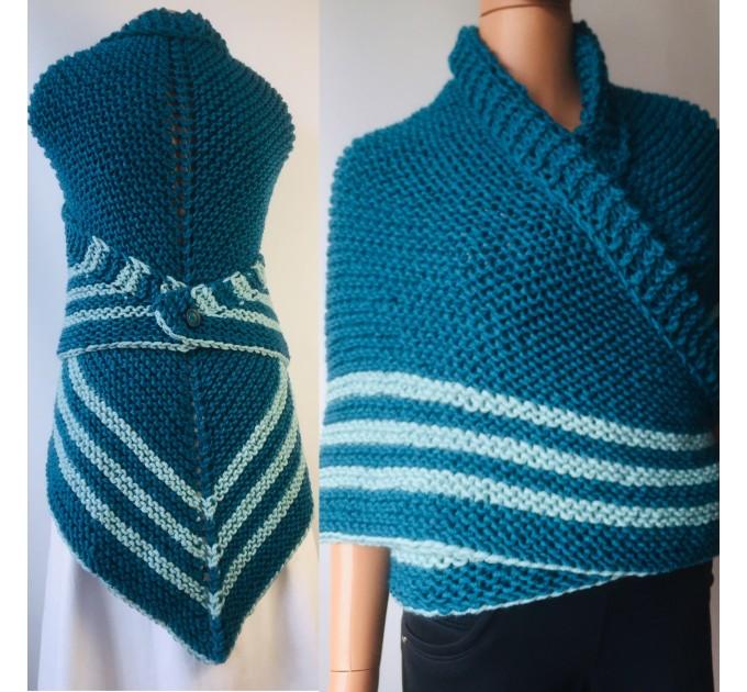 White Outlander rent shawl ivory triangle wool shawl sontag celtic shawl knit shoulder wrap Claire Carolina Shawl Fraser's Ridge winter shawl  Shawl Wool Mohair  4