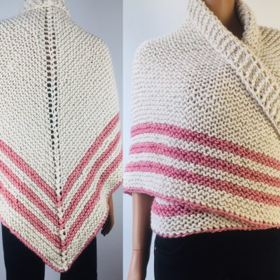 White Outlander rent shawl ivory triangle wool shawl sontag celtic shawl knit shoulder wrap Claire Carolina Shawl Fraser's Ridge winter shawl