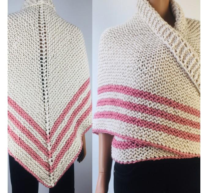 White Outlander rent shawl ivory triangle wool shawl sontag celtic shawl knit shoulder wrap Claire Carolina Shawl Fraser's Ridge winter shawl  Shawl Wool Mohair
