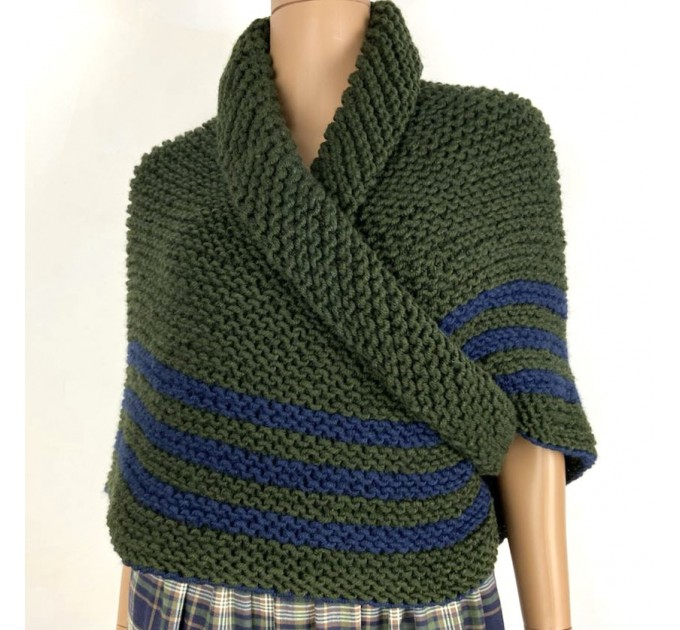 Outlander rent Claire shawl knit shoulder wrap sontag celtic shawl green triangle wool shawl Carolina Shawl Fraser's Ridge winter shawl  Shawl Wool Mohair  1