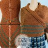 Brown Outlander rent shawl Claire Fraser knit shoulder wrap brown alpaca triangle shawl sontag shawl anniversary gift wife mom