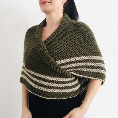 Claire outlander shawl knit shoulder wrap Triangle outlander shawl green alpaca wool shawl sontag celtic shawl Carolina Shawl anniversary gift for here mom wife outlander costume