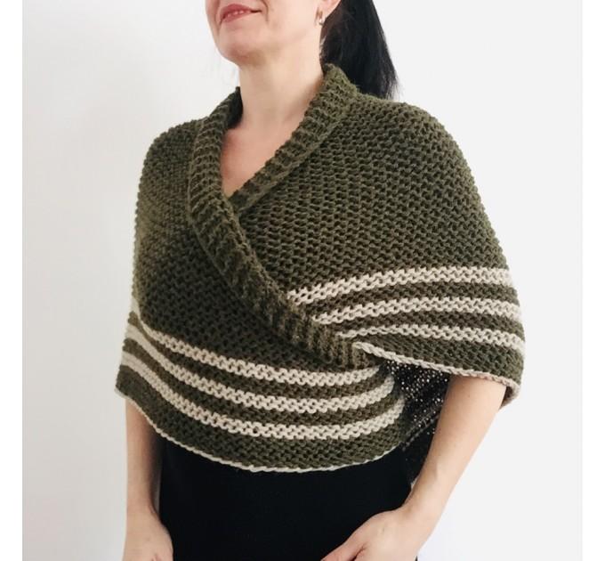 Brown Outlander rent shawl Claire Fraser knit shoulder wrap brown alpaca triangle shawl sontag shawl anniversary gift wife mom  Shawl Alpaca  3