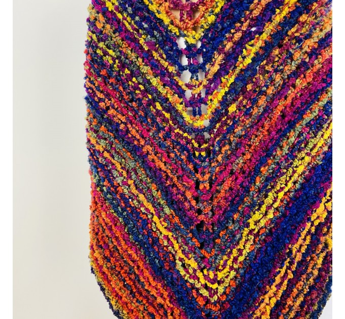 Violet Outlander Claire rent shawl warm knit shoulder wrap sontag fall wool triangle shawl red celtic mohair shawl Inspired Outlander shawl  Shawl Wool Mohair  4