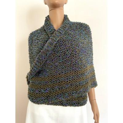 Lavander outlander shawl knit green alpaca wool shawl Carolina Shawl triangle sontag shawl shoulder wrap Claire's Shawl outlander costume