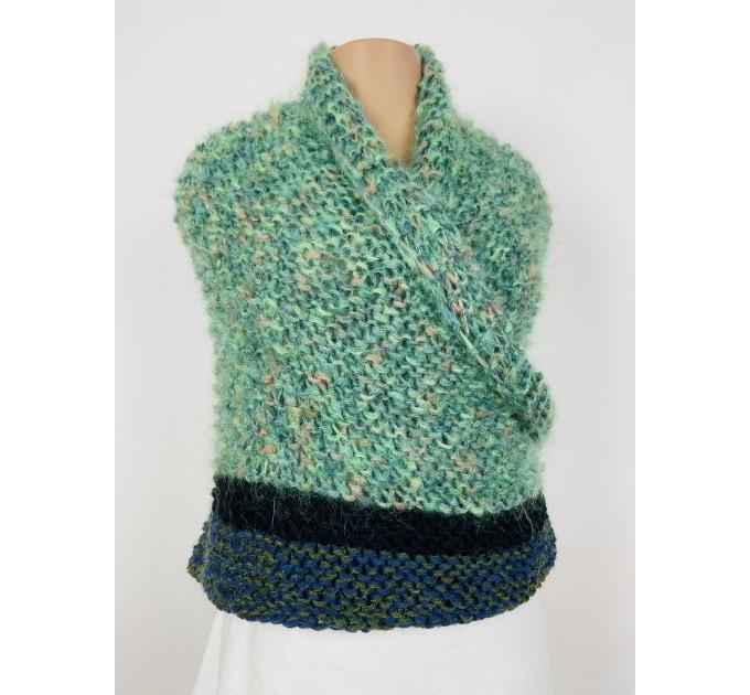Outlander Claire rent shawl green triangle alpaca wool shawl celtic shawl knit shoulder wrap sontag winter shawl inspired Carolina Shawl  Shawl Alpaca  1