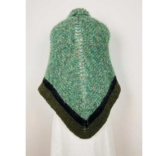 Outlander Claire rent shawl celtic shawl light green triangle alpaca wool shawl knit shoulder wrap sontag winter shawl inspired Carolina Shawl  Shawl Alpaca  2