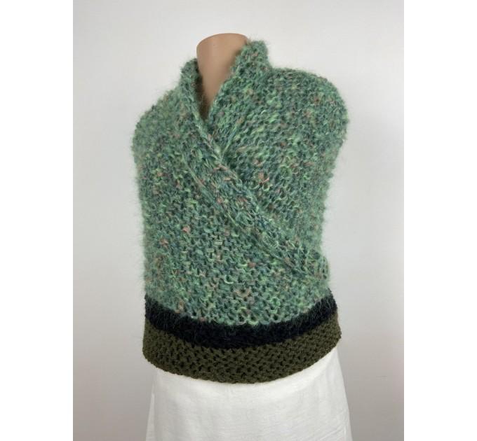 Outlander Claire rent shawl celtic shawl light green triangle alpaca wool shawl knit shoulder wrap sontag winter shawl inspired Carolina Shawl  Shawl Alpaca  1