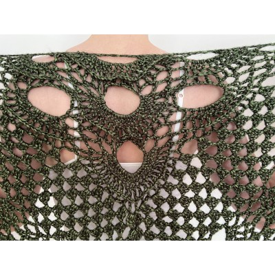 Green shawl for wedding bridal triangle wrap fringe bride winter capelet wool bridesmaid cover up wedding wrap bridal stole crochet cover up