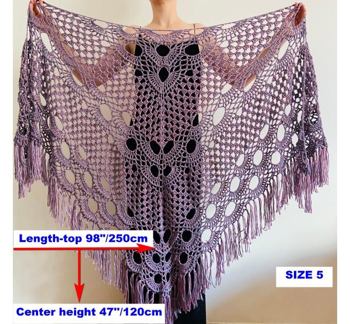 Beige shawl for wedding Bridesmaid shawl wedding capelet Wool triangle shawl fringe Lace shawl bridal stole bride winter shawl wrap  Wedding  16
