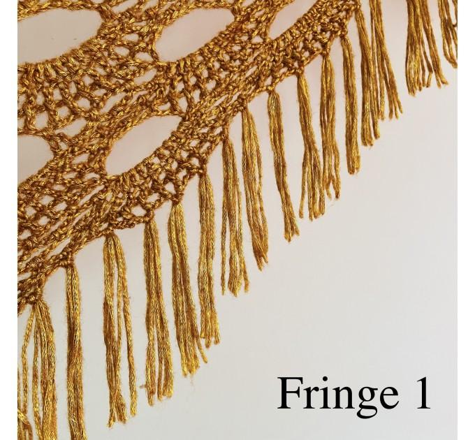 Beige shawl for wedding Bridesmaid shawl wedding capelet Wool triangle shawl fringe Lace shawl bridal stole bride winter shawl wrap  Wedding  17