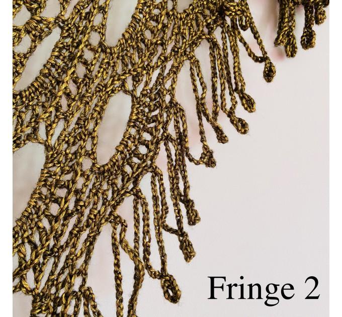 Beige shawl for wedding Bridesmaid shawl wedding capelet Wool triangle shawl fringe Lace shawl bridal stole bride winter shawl wrap  Wedding  18