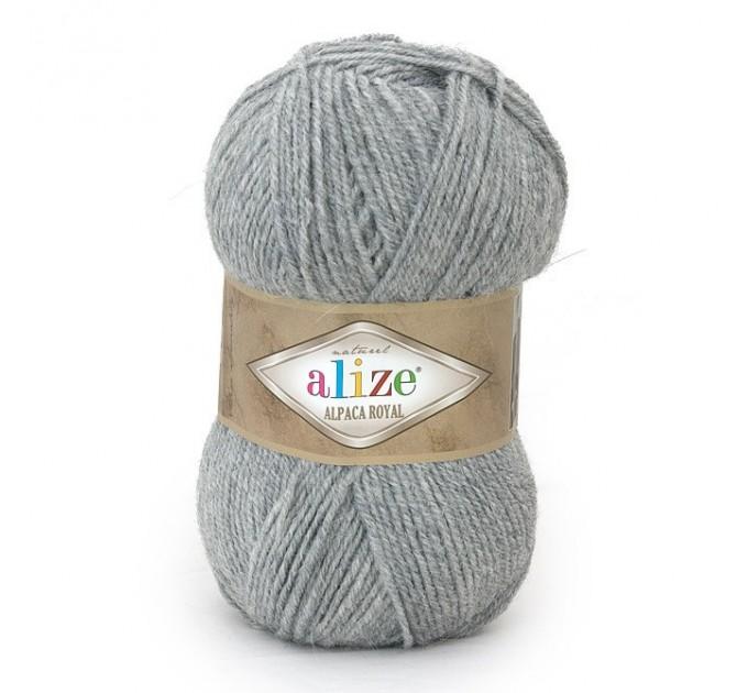 ALIZE ALPACA ROYAL Yarn Alpaca Wool Yarn Knit Alpaca Yarn For Baby Crochet Knitting Scarf Cardigan Sweater Hat Poncho Pullover Shawl  Yarn  3