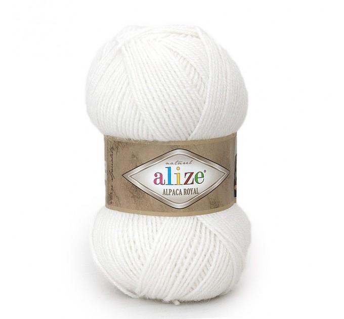ALIZE ALPACA ROYAL Yarn Alpaca Wool Yarn Knit Alpaca Yarn For Baby Crochet Knitting Scarf Cardigan Sweater Hat Poncho Pullover Shawl  Yarn  2