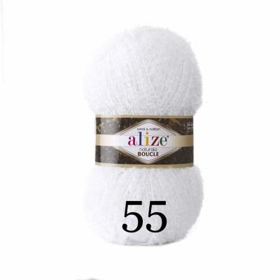 NATURALE BOUCLE Alize Yarn wool knitting yarn, cotton crochet yarn, soft baby blanket, clotting scarf hat yarn