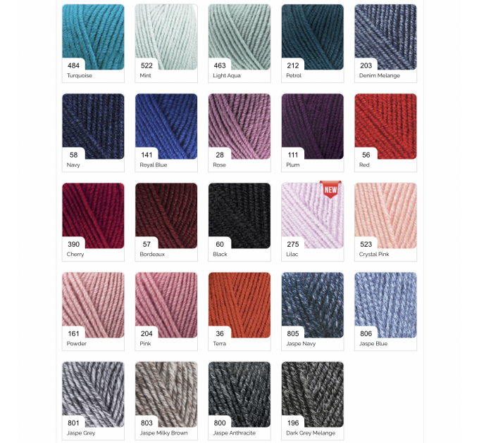 ALIZE SUPERLANA MIDI Yarn Wool Yarn Multicolor Yarn Acrylic Wool Crochet Yarn Knitting Yarn Crochet Sweater Poncho  Yarn  2