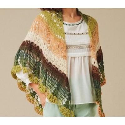 Crochet shawl pattern Lace knitting