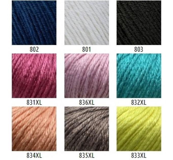 Gazzal BABY WOOL XL Yarn Merino Wool Yarn Cashmere Yarn Crochet Scarf Sweater Knitting Hat Cardigan Poncho Pullover Shawl  Yarn  1