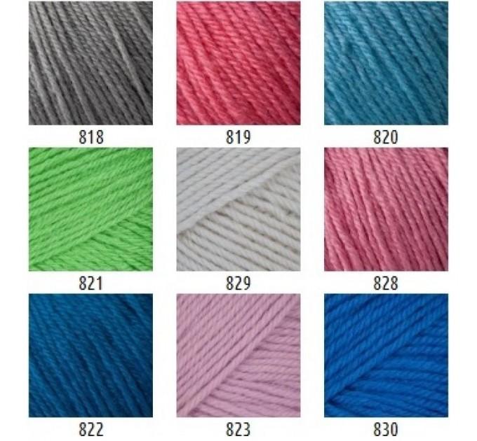 Gazzal BABY WOOL XL Yarn Merino Wool Yarn Cashmere Yarn Crochet Scarf Sweater Knitting Hat Cardigan Poncho Pullover Shawl  Yarn  3