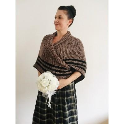 Outlander shawl sontag wool triangle shawl scottish wedding shawl shoulder wrap Inspired Claire anniversary gift wife mom sister
