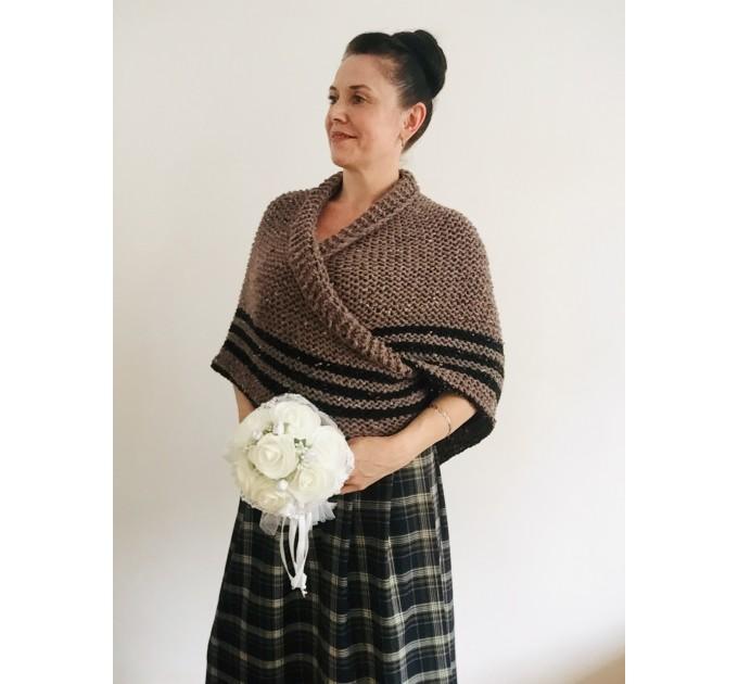 Outlander shawl sontag wool triangle shawl scottish wedding shawl shoulder wrap Inspired Claire anniversary gift wife mom sister  Shawl Wool Mohair