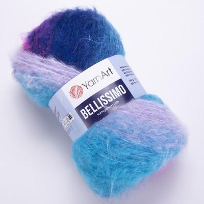 Yarn BELLISSIMO YarnArt mohair yarn ombre yarn gradient shawl yarn knitting yarn poncho yarn crochet yarn rainbow yarn wool yarn